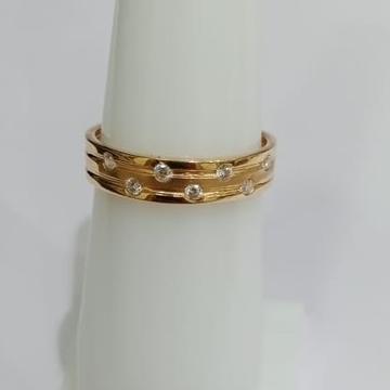 22KT Gold Simple Design Hallmark Ring  by