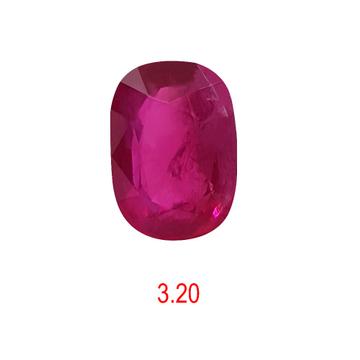 3.20ct oval pink ruby-manek