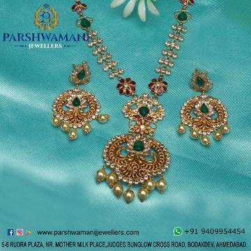 22K Indori Woman Gold Set  PJ NS001