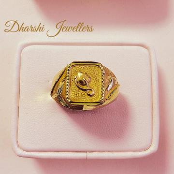 22K Gold Designer Ring