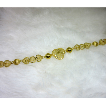 Gold Heart Shape Ledies Bracelet