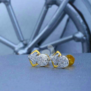 18ct Casual Were Cz Gold Tops