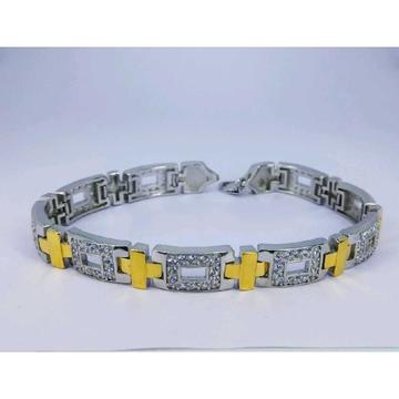 92.5 Silver Men's Bracelet