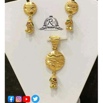 22 carat gold traditional pendants set RH-PS418