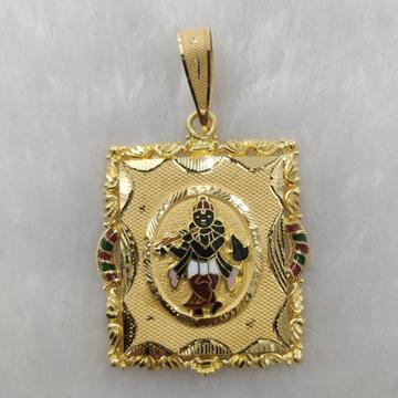 916 Gold Fancy Gent's Krushna Pendant