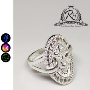 silver fancy ladies rings RH-LR403
