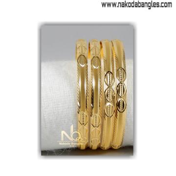 916 Gold Khilla Bangles NB - 1395