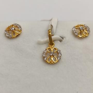 GOLD PENDANT NEW DIZAIN by Narayan Jewellers