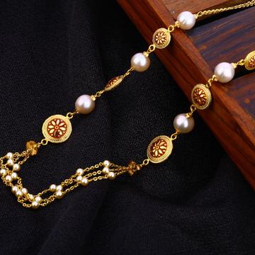 916 Gold Antique Classic Women's Chain Mala AC203