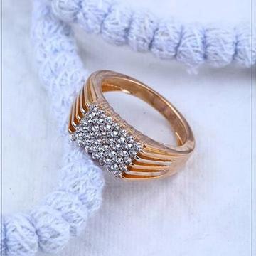18Kt Rose gold Premium Gents Ring RH-GR58