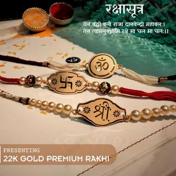 22Kt Gold Rakhi RH-GR03