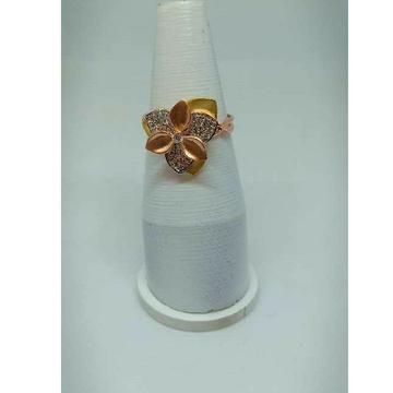 18KT Tri Coloured Rose Gold Ladies Ring