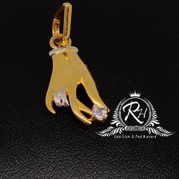 22 carat gold hand pendal RH-PL425