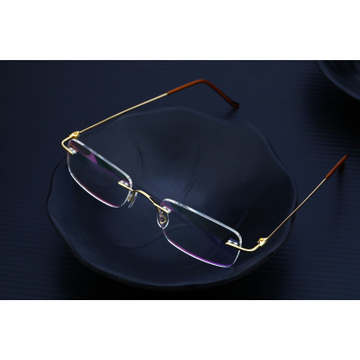 18K Gold Spectacles-S06