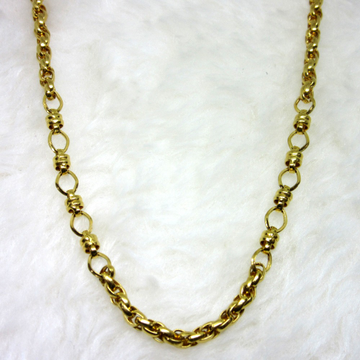 Gold Hollow Royal Chain