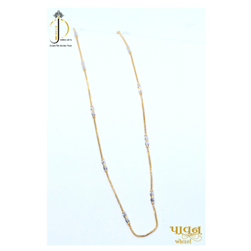 22KT / 916 Gold Fancy delicate Chain for Ladies CHG0095