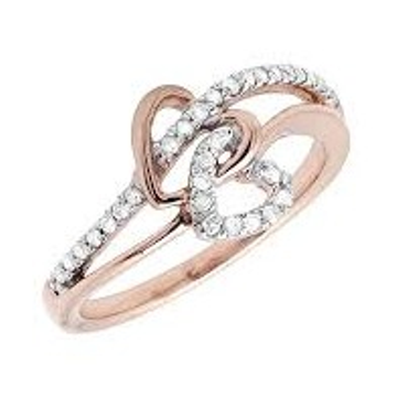 Romantic cz diamond ring LR 009