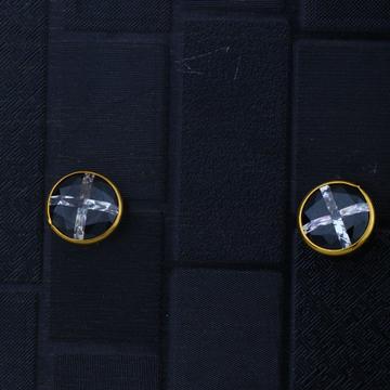 916 Gold CZ Daily Wear Earring