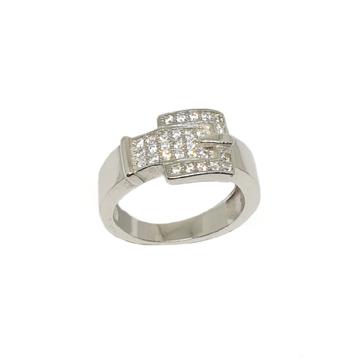 925 Sterling Silver CZ Diamond Ring MGA - GRS2187