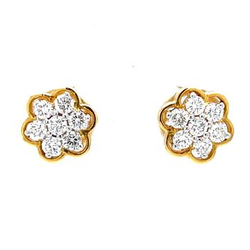 Seven diamond floral kudi premium diamond jewellery 8top3