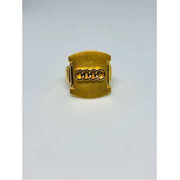 916 gold fancy ring for men kdj-r004
