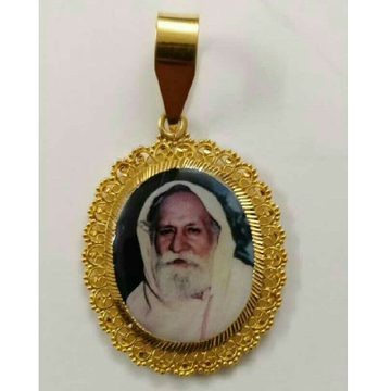 22kt Gold Gents Religious Pendant