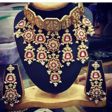 bridal necklace set#bdns077