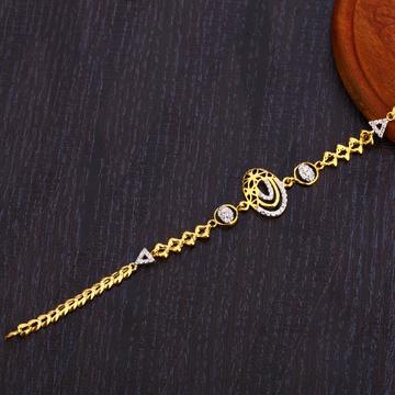 22CT Gold Designer Ladies Bracelet LB305