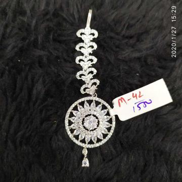 Beautiful Silver Diamond Tikka#911