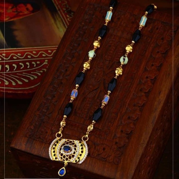 916 Gold antic Rajasthani Mangalsutra RH-GM25