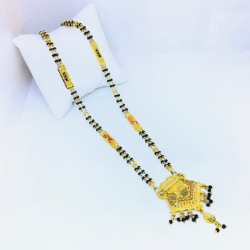 DESIGNING FANCY LONG MANGALSUTRA by