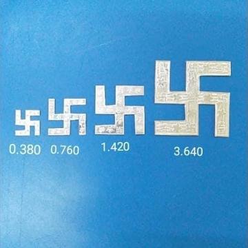 silver sawsatika RH-SS4