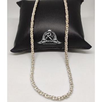 Silver gents vertical antic chain rh-ch882