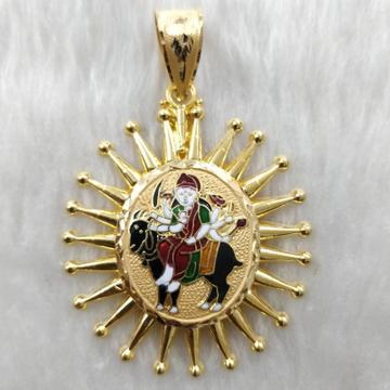 916 Gold Meladi Maa Gent's Pendant