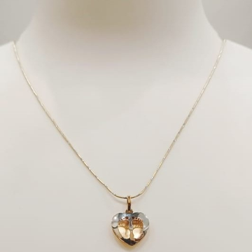 18 ct imported pendat chain by