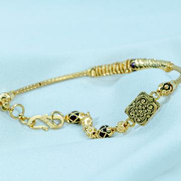 916 gold chain Bracelet lb-573 by