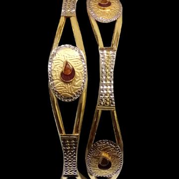 916 Gold Stylish Ghaba Kadli SG-55 by