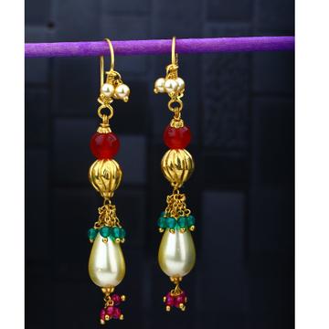 916 Gold Hallmark Ethnic Earring