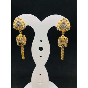 916 Ladies Fancy Gold Earring Er-60050