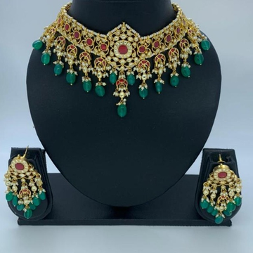 wonderful latest Artificial necklace set  by