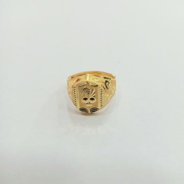 22 K GOLD FANCY PLAIN RING by Shreeji Silver Palace