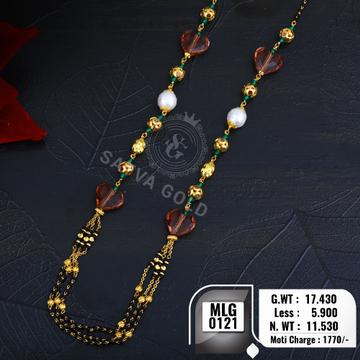 916 gold mala MLG-0121