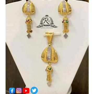 22 carat gold classical pendants set RH-PS417