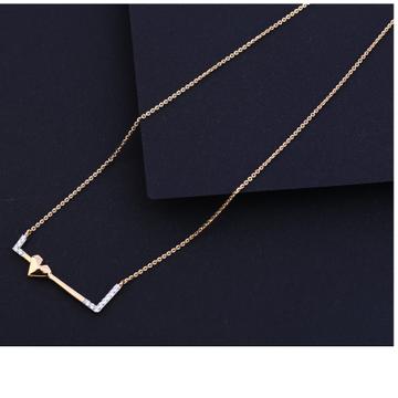 18KT Rose Gold Fancy Necklace Tanmaniya RTM217