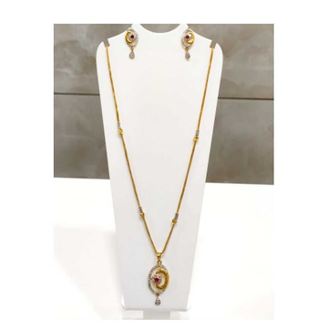 22 K Gold Fancy Pendant Set. NJ-P0765