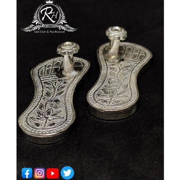 silver paduka For charan pooja rH-PC13