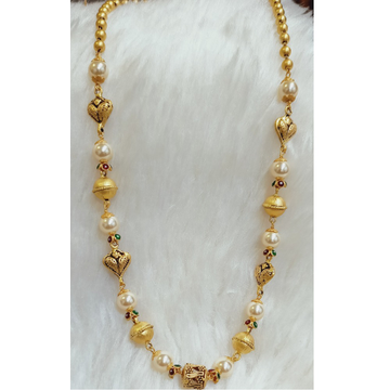 22 KT GOLD MERCURY ANTIQUE MALA by