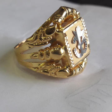 91.6 Najrana gents ring by Shree Kesar Gold Palace