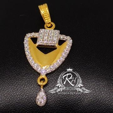 22 carat gold traditional pendal RH-PL548