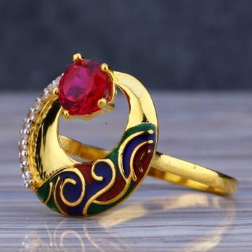 22 carat gold fancy ladies rings RH-LR445